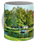 Tranquil Landscape At A Lake 8 Coffee Mug
