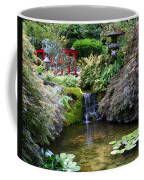 Tranquility In A Japanese Garden Coffee Mug