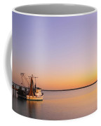 Shrimp Trawler At Dusk 2am-109249 Coffee Mug