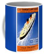 Transatlantic Ocean Liner Coffee Mug