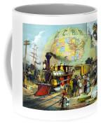 Transcontinental Railroad Coffee Mug