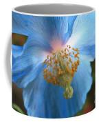 Translucent Blue Poppy Coffee Mug by Carol Groenen