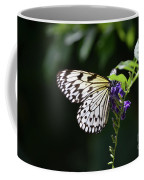 Translucent Wings On A Rice Paper Butterfly Coffee Mug