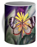 Transparent Butterfly Coffee Mug