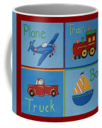 Transportation Modes Coffee Mug