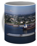 Transportation - Shipping On The Mississippi River Coffee Mug