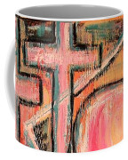 Trappings Of Love Abstract Art Painting  Coffee Mug