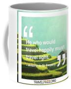 Travel Happy Coffee Mug