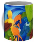 Travel In The Undefined Time. Coffee Mug