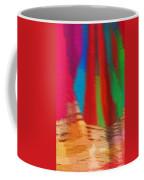 Travel Shopping Colorful Scarves Abstract Series India Rajasthan 1b Coffee Mug
