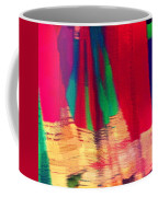 Travel Shopping Colorful Scarves Abstract Series Square India Rajasthan 1h Coffee Mug