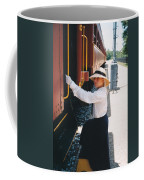 Traveling By Train Coffee Mug