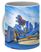 Traveling Man Chilin Coffee Mug