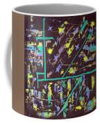 Trawler And Wharf Coffee Mug