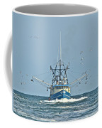 Trawler Homeward Bound Coffee Mug