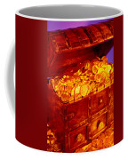 Treasure Chest With Gold Coins Coffee Mug