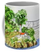 Treasure Island - California Sketchbook Project  Coffee Mug