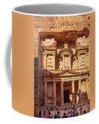 Treasury Of Petra In Color Coffee Mug