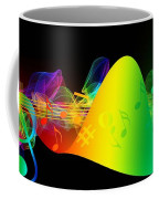 Treble Clef In Motion Coffee Mug