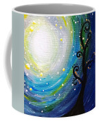 Tree And Moonstars Coffee Mug