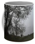 Tree And Moored Boat Coffee Mug