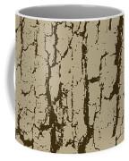 Tree Bark Texture Brown Coffee Mug