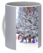 Tree Branches Covered By Snow  Coffee Mug