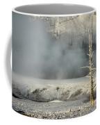 Tree By The Thermal - Yellowstone Coffee Mug