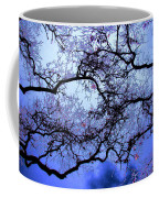 Tree Fantasy In Blue Coffee Mug