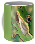 Tree Frog Eyes Coffee Mug