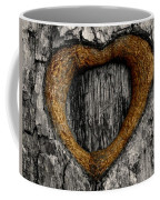 Tree Graffiti Heart Coffee Mug