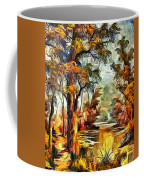 Tree Impression Coffee Mug
