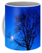 Tree In Blue Sky Coffee Mug