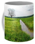 Tree In Field 2 Coffee Mug