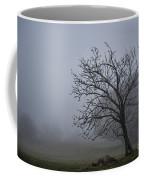 Tree In The Fog Coffee Mug