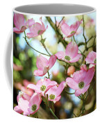 Tree Landscape Pink Dogwood Flowers Baslee Troutman Coffee Mug
