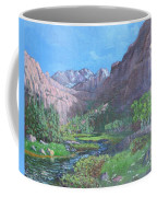 Tree Line Oasis  Coffee Mug