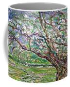 Tree, Loom Of Light And Life Coffee Mug