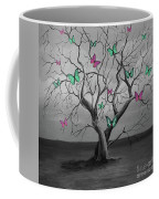 Tree Of Butterflies  Coffee Mug