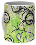 Tree Of Life Spring Abstract Tree Painting  Coffee Mug