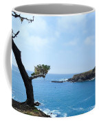 Tree On A Coastline Coffee Mug