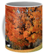 Tree On Fire Coffee Mug