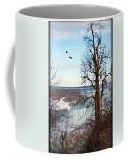 Tree Overlooking The Falls Coffee Mug