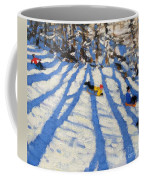 Tree Shadows Morzine Coffee Mug