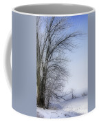 Tree-snow-fog Coffee Mug