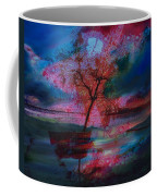 Tree Splat Fragmented Coffee Mug