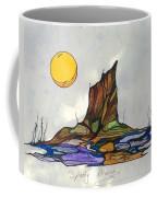 Tree Stump At Spooky Marsh Coffee Mug