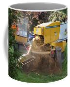 Tree Stump Removal Coffee Mug
