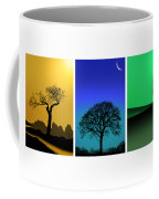 Tree Triptych Coffee Mug