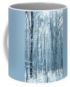 Tree Trunks Pattern Coffee Mug